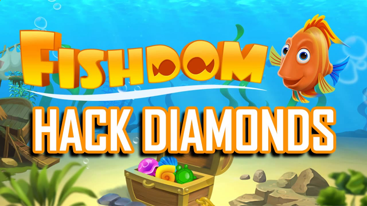 999.999 Coins and Diamond on Fishdom Are Now Free With fish.nehack.com