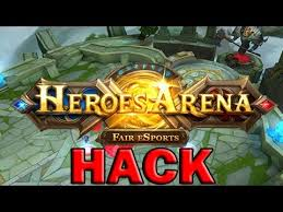 Get Free Hack heroesarena.evilcodex.com for Getting Gold and Diamond in Heroes Arena