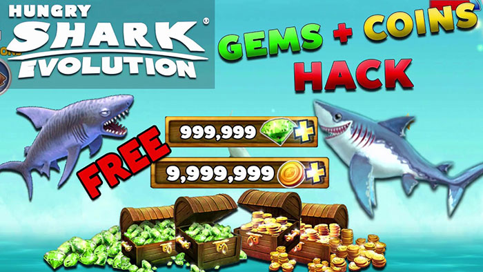 Trusted Hack 100% Hungry Shark Evolution Using hungrysharkhack.club No Limit Coins and Gems